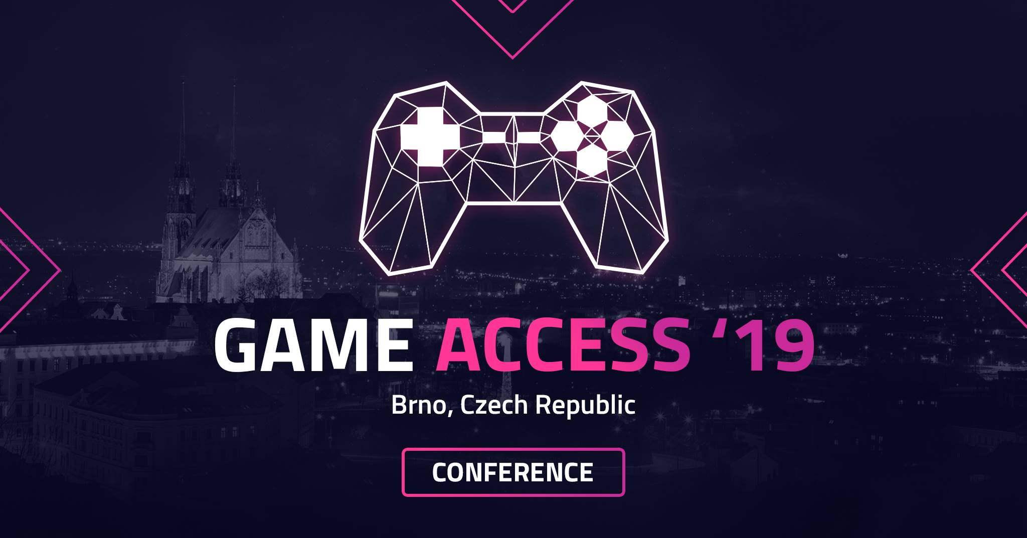 Game Access Conference '19 | 24-25 May 2019, Brno, Czech